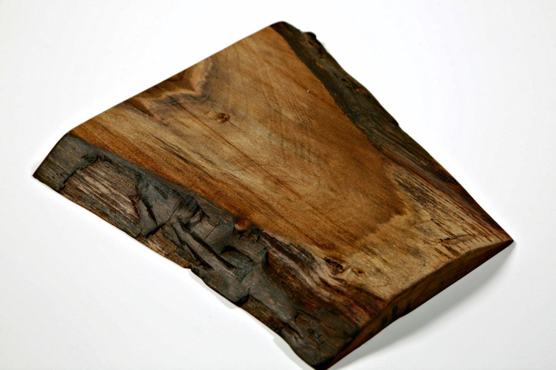 Wood Edged Board ~ Live edge cutting board free shipping wood