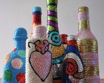 Bottle Voodoo Haitian - multicolor