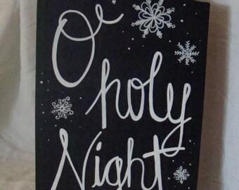 Custom Handwritten Christmas Chalkboard
