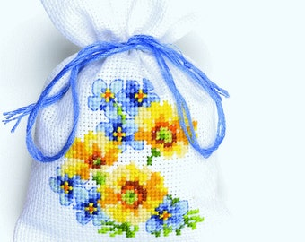 Vervaco Counted Cross Stitch Kit Flowers III PN-0146041