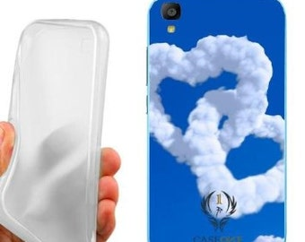 Sky case cover hearts love for huawei y6