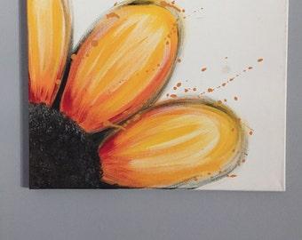 Sunflower Splatter