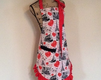 Woman's Apron Reversible