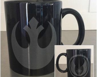 Star Wars Coffee Mug - Rebel Alliance, Jedi Order, The Force Awakens