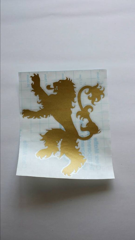 Lannister Sigil Game of Thrones Decal House Lannister