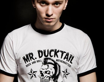 Mr ducktail Classic white