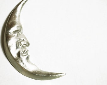 Mr. Moon Necklace - Sterling silver