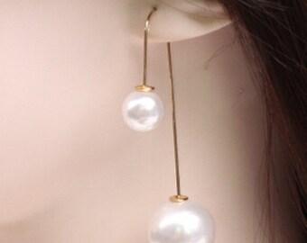 Earrings pearls of the sea