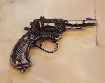 Soviet toy gun revolver vintage USSR