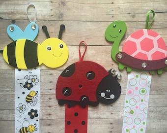 SALE Hair Bow Holder, Bee Bow Holder, Ladybug Bow Holder, Turtle Bow Holder, Hair Clip Holder, Bow Organizer