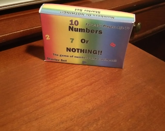 Numbers or Nothing Card Game Starter Set