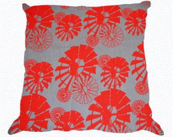 Windpomp RED Scatter Cushion Cover