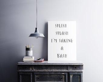 I'm taking a bath (Digital)