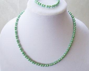 Swarovski® Pearls-Silver Spacer Beads-Swarovski® Mini Pearls-Pearl Necklace-Bead Necklace-Quality Jewelry-Wedding Jewelry-Birthday Gift