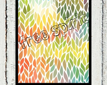 Free Spirit Printable