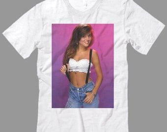 90's Kelly Kapowski T Shirt, Saved by the Bell Shirt, Justin Bieber shirt, Premium Quality fabric, All Sizes from kid Sml - Adult 5XL