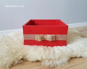 Christmas crate newborn prop todder prop RTS