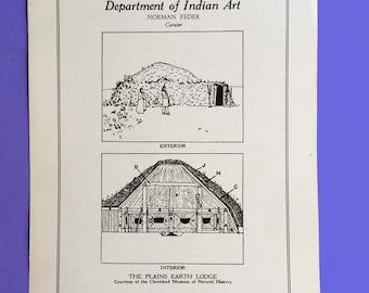 Plains Indian Earth Lodge