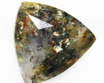 Pellyite 1.88cts Trillion Cut 9.00 x 9.00 g578 Loose Gem Faceted Gemstone Jewelry Making Semi Precious Triangle