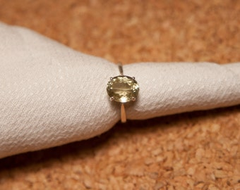 Summer sale! Sillimanite Ring