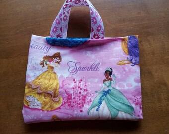 Disney Princess fabric bag, gift bag, favor bag