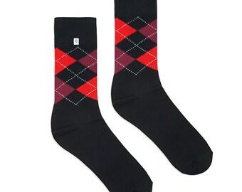 Diamonds Black Socks
