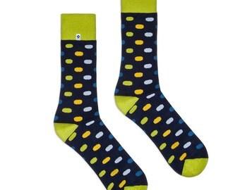 Long Dots Socks