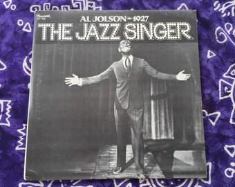 """Al Jolson - """"The Jazz Singer""""  Vinyl LP, Record Album, Original 1974"""
