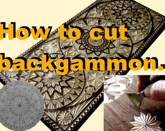 Backgammon. How to cut geometry.