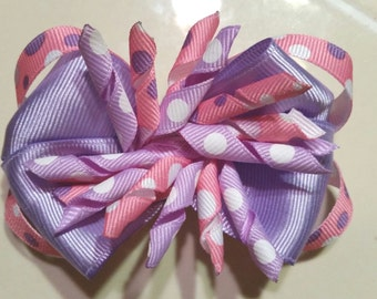 Stacked boutique korker bow