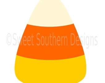 Candy corn SVG instant download design for cricut or silhouette