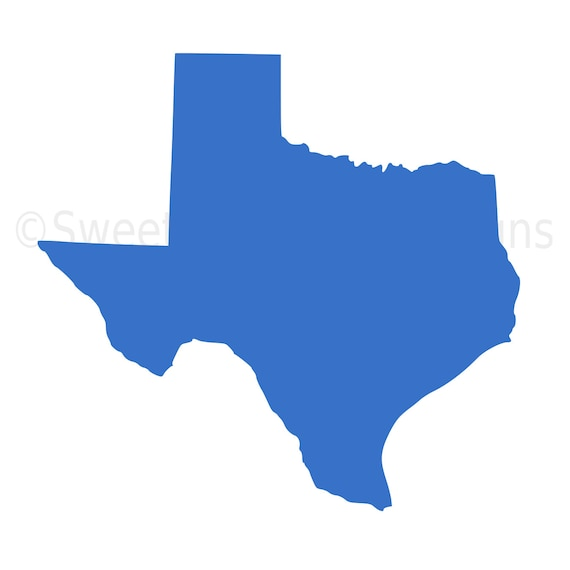 Texas Outline Svg Instant Download Design For Cricut Or