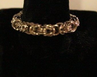 Trizantine Chainmaille Ring