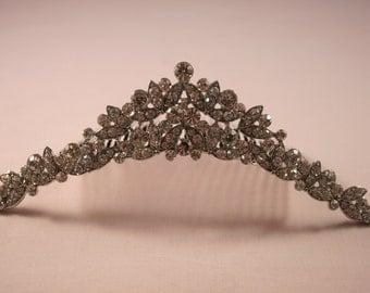 Crystal Romance Tiara Comb