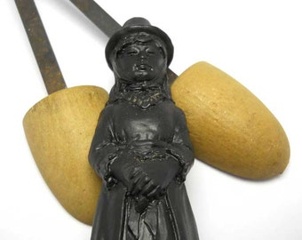 Welsh Coal Figurine Vintage