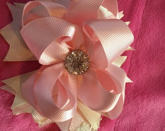 Infant/child's bow with headband