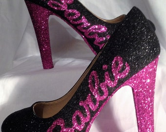 Barbie inspired heels * *  uk sizes 3-8 * *