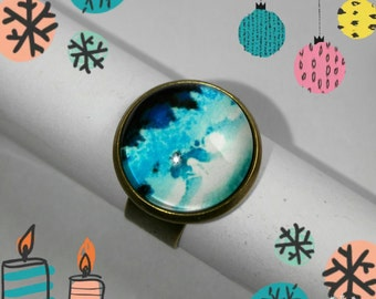 Ring Blue Forest