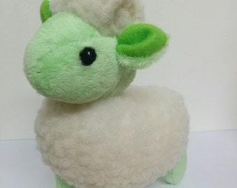 Green Pastel Plush Sheep