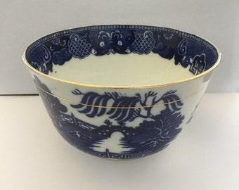 Broseley Pattern Tea Slop Bowl c1880