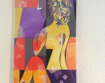 Nu mauve (purple naked)