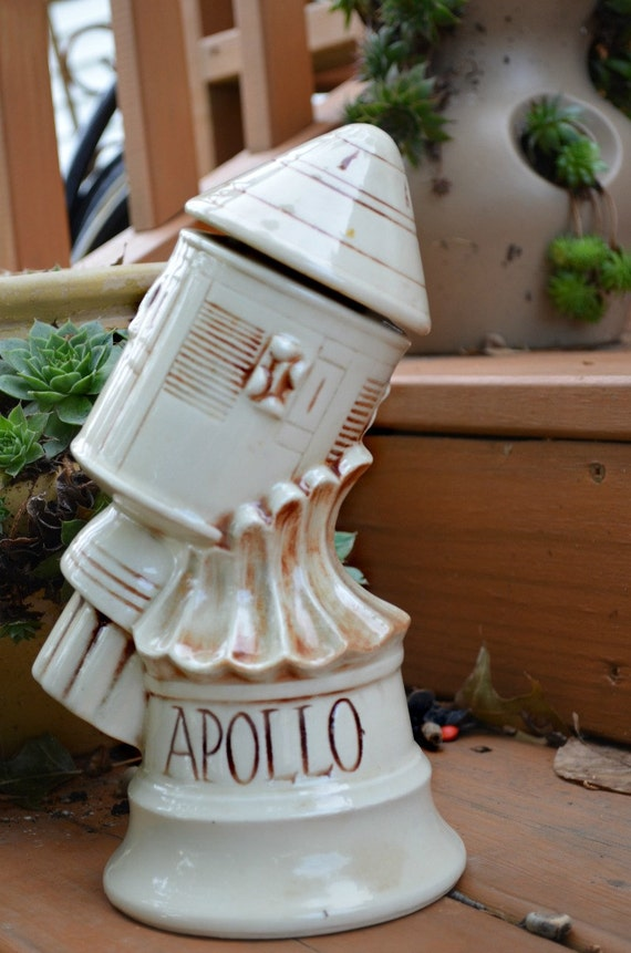 1969 McCoy Apollo Space Capsule Whiskey Decanter (Empty) Made For Thomas W. Sims Distillery in Stanley, Kentucky
