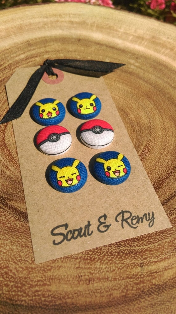 Pokemon Magnets (set of 6)