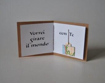 Calligraphic card