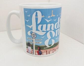 Land's End mug