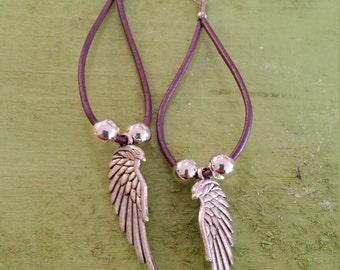 Angel Flight earrings
