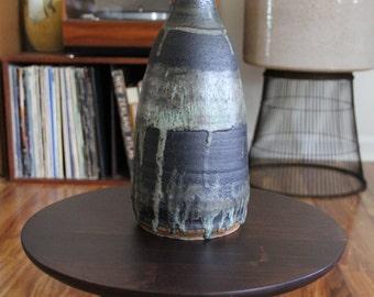 Studio pottery weed pot unmarked bud vase