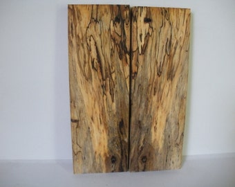 "Spalted American Sycamore wood blanks -handles,general 3/8"" x 2"" x 6"""