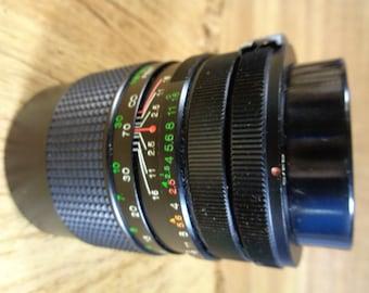 Vivitar 135mm f2.5 Auto Telephoto  Screw Mount, Manual Focus No. 3740144 58mm C/FD Lens Vintage Vivitar Lens
