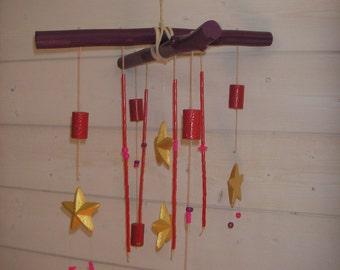 Decorative mobile stars